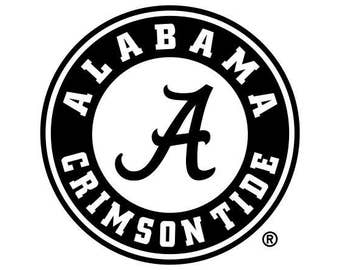 Alabama Crimson Tide SVG Digital File