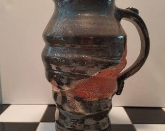 Ceramic Pitcher, Shino