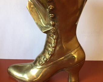 Brass Boot