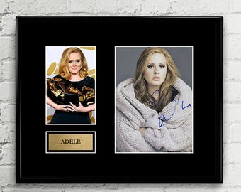 Adele - Autograph - Grammy Signed Poster Autograph Signed Poster Art Print Artwork