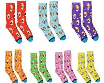 Custom Dog Socks - Put Your Dog on a Sock!