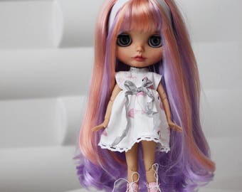 Custom Blythe doll ooak. Please do not buy. This doll is sold!!!