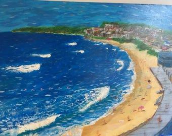 Bar beach Newcastle, nsw