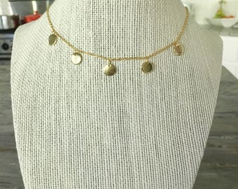 5 Meals Necklace (gold)