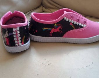 Customised childrens shoes