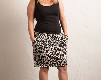 Goddess Leopard skirt