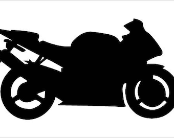 Motorcycle Decal/ Motorcycle Iron on/ Sticker// Sports bikes/ street bikes/