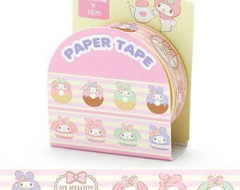 My Melody Masking Tape Washi Tape Paper Craft SANRIO from Japan 10M