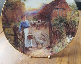 Wedgewood 'The Shepherdess' collectors plate
