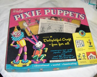 "Pixie Puppets"" by Walco"