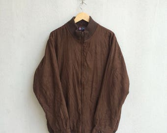 Vintage 90's Chaps Ralph Lauren Zipper Jacket