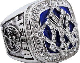 Replica 2009 New York Yankee MLB World Seriess Championship Ring. Can be customized with your name instead of player