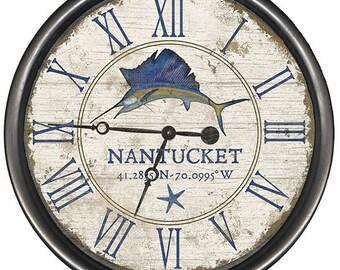 Sailfish Vintage Clock