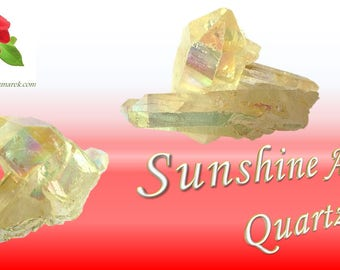 Sunshine Aura Quartz
