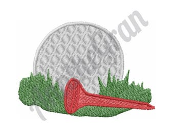 Golf Ball - Machine Embroidery Design