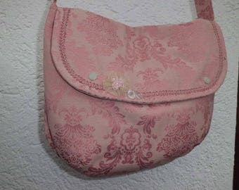 Bag, bags, powder pink
