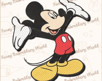 Mickey Mouse EMBROIDERY DESIGN ,machine embroidery design,embroidery designs.Instant download,5 sizes,8 formats #1006-1