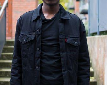 Black Shearling Jacket