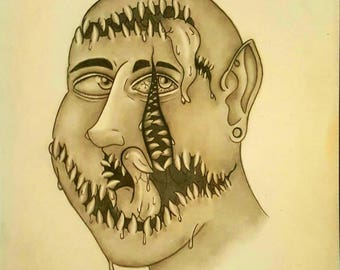 The Man With Many Mouths