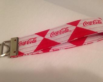 Coca Cola Keychain Wristlet