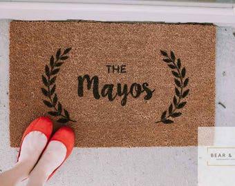 Personalized Doormat, Custom Doormat, Welcome Mat