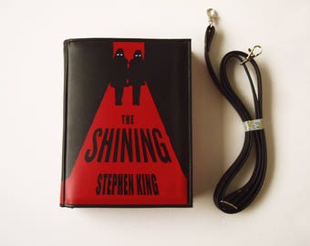 The Shining Leather Book Bag Stephen King Book Purse