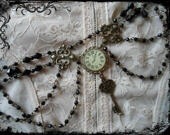 steampunk gothic necklace