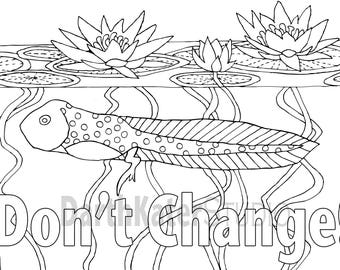 premium adult coloring postcards dont change 10 pack