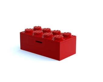 Custom Lego Brick Money Box - Instructions