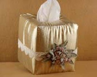 Christmas Elegance Tissue Box