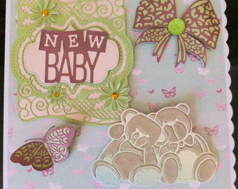 New Baby card for boy or girl
