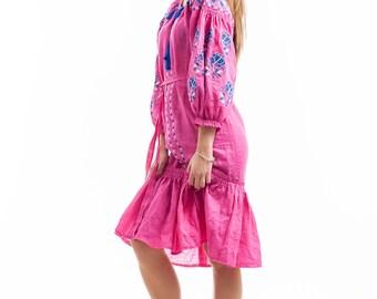 """Playful dress """"Pink Flower"""""""