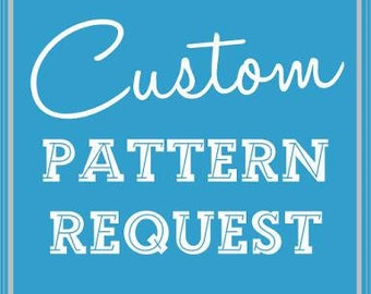 Custom Pattern - cross stitch pattern from your own photo (Emailed)