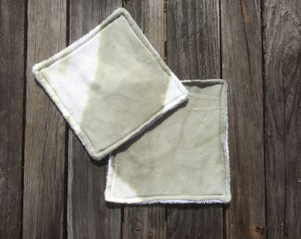 Hand dyed wash cloths | wash cloth | flannel