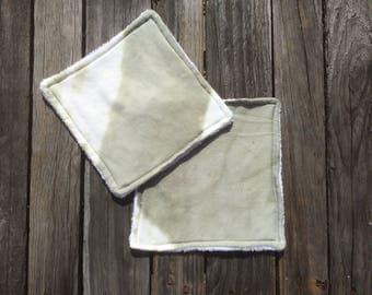 Hand dyed wash cloths | wash cloth | flannel