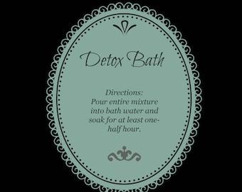 Detox Bath Kit