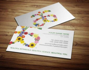Arbonne Business Card Design 1
