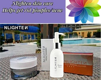 Nworld Nlighten Helps get rid of pimple/acne set