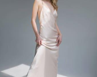 Love Story light beige dress