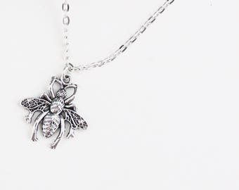 Humble Bumble Bee Necklace