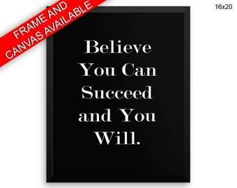Believe In Yourself Wall Art Framed Believe In Yourself Canvas Print Believe In Yourself Framed Wall Art Believe In Yourself Poster Believe