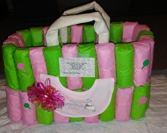 Diaper Bag Diaper Cake