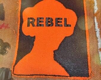 Princess Leia Rebel Patch