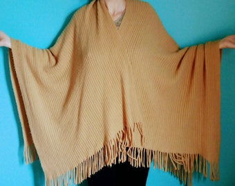 Vintage, Shawl, Knit, Women's