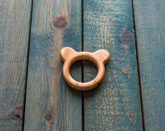 Wooden teether | Wooden toy | Baby toy | ECO FRIENDLY TOY
