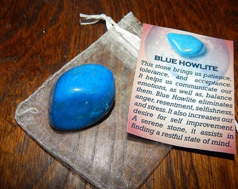 Blue Howlite