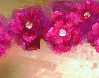 """LOT of 5 Fascinator Hats- Approx 12"""" Diameter- Perfect for Bridal Party/ Sorority/Bachelorette/Birthday Party"""