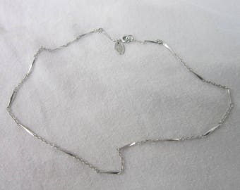 Vintage Designer Vendome Fancy Chain Necklace