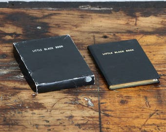 The Little Black Book Humorous Address Book
