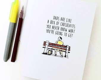 Forrest Gump Fathers day card